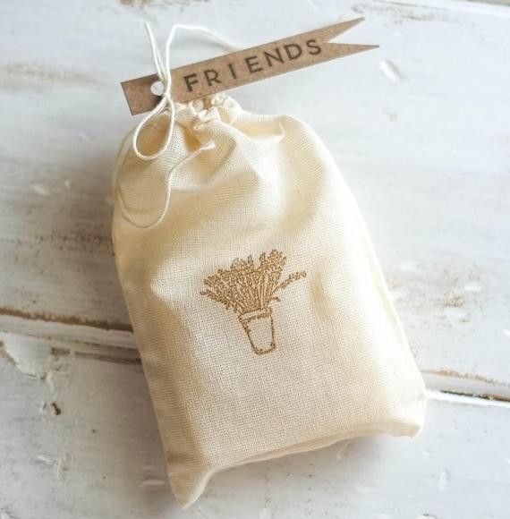 LAVENDER WHISPER Avocado Bar | 4oz | Muslin Drawstring Bag with Fun Flag Tags | Give a Little Love!