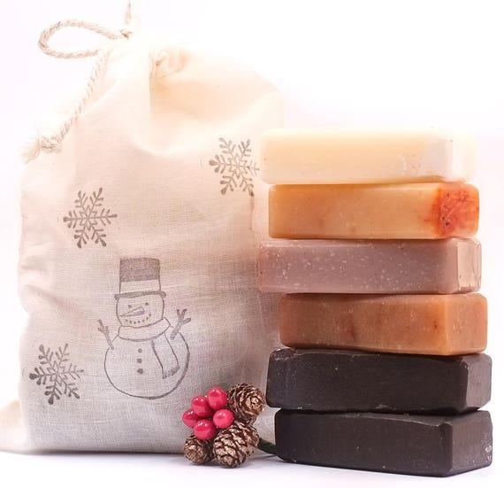 HOLIDAY SAMPLER | 1oz ea. | Mocha Mocha - Chocolate Mint - Peppermint Latte - Pumpkin Spice - Vanilla Lavender Mint - Tangerine Clove.