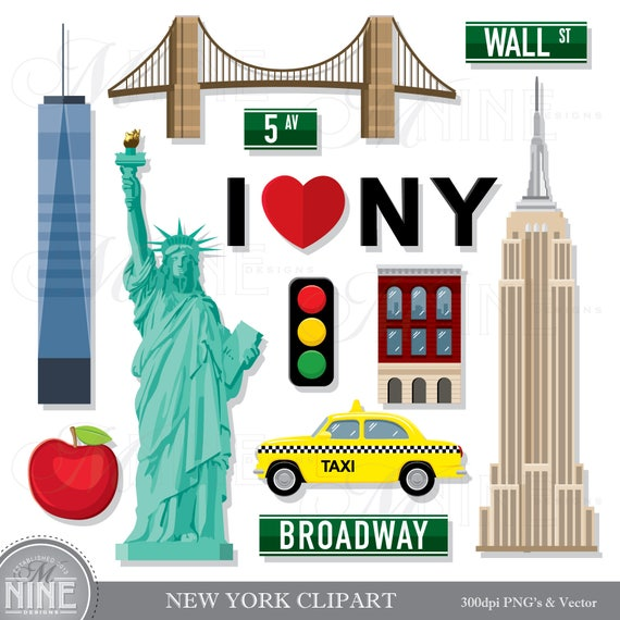 New york clip art new york theme clipart download new york for Art and craft stores nyc