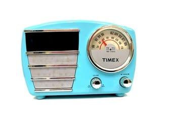 Timex Radio Alarm Clock, Model T247L, 1960's