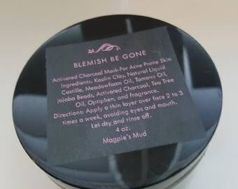 Charcoal Detoxifying Mask-Lemon Coconut
