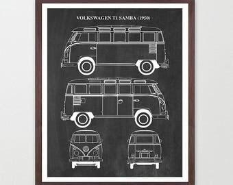 VW T1 Patent - VW Bus Patent - Volkswagen - Volkswagen Patent - Volkswagen Art - VW Bus - Volkswagen Poster - Bug - Volkswagen Van -