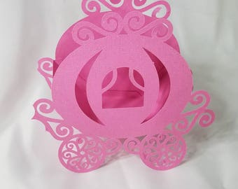 Princess Party Favor Box, Set of 8 Party Favor Boxes