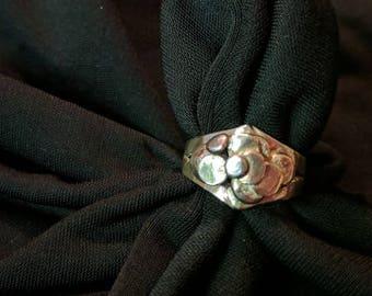 Ebenezer Sterling Ring US size 8