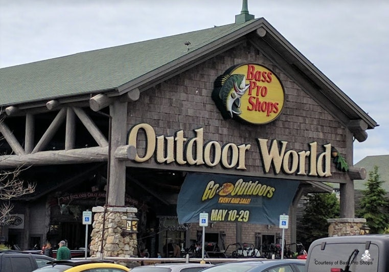 Bass Pro shop, fishing, camping, store