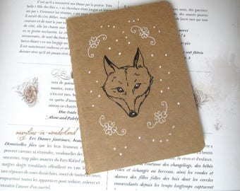 "Sketchbook - notebook Kraft ""Fox"""
