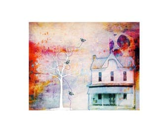 "Art Print ""Colorful Whimsy"""