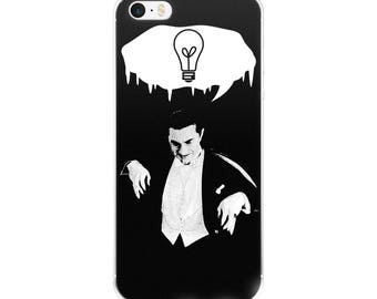 pastel goth, iPhone case, dracula, bela lugosi, goth, pop surrealism, classic horror, universal monsters, spooky, creepy, halloween, vampire