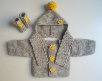 Explanations vest hat(cap) scarf for babies from 3 to 12 months / tuto baby cloth / file PDF sent immediately to French and to English