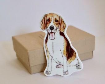 Beagle Brooch