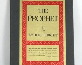 SUMMER SALE Kahil Gibran The Prophet Hardcover in Slipcase Like New