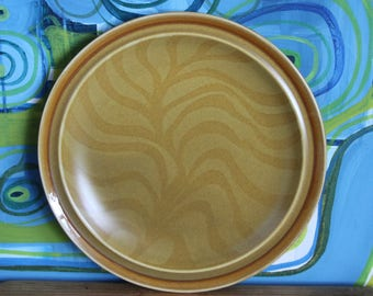 Vintage 1970's  Stoneware  Dinner Plate- INDEPENDNCE japan