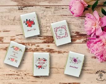 10 Custom soap favors, Mini gift favors, Vegan favors, Boho wedding, Gift soap favors, Wedding favors, Over 60 designs to choose