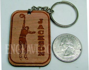 Basketball Key Chain, Custom, Personalized, Made to Order.