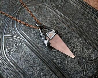Rose Quartz Pendulum I