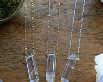 Simply Quartz Grounding Necklace
