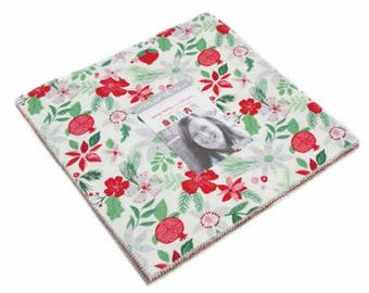 Merry Merry Layer Cake by Kate Spain for Moda Fabrics. 27270LC
