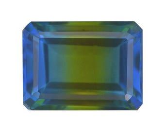 Blue Nile Triplet Quartz Loose Gemstone Octagon Cut 1A Quality 16x12mm TGW 10.00 cts.