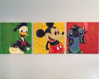 Abstract Disney Series