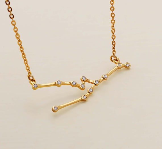 jewelry taurus collection h necklace taureau materials com en accessories sign description care zodiac maje instructions