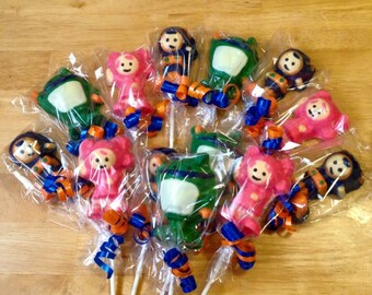 Team Umizoomi Chocolate favors