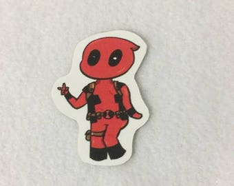 Comic character two inch sticker