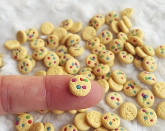 On Sale15% 10/20 Miniature Cookies,Miniature Bakery,Miniature Food,Dolls House Food,Miniature Sweet,Miniature Jewelry,Miniature Accessories,