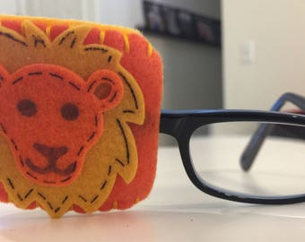 Clearance Lion Eye Patch For Glasses