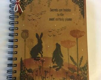 Woodland hare notebook