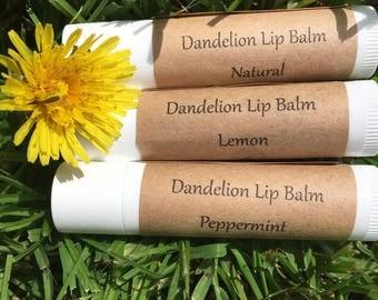 Dandelion Lip Balm