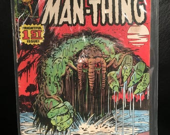 Original 1979 Man-Thing #1 Marvel Comics Comic Book