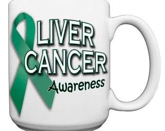 Liver Cancer Awareness Large 15 oz. Coffee Mug
