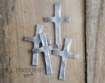 UPGRADE ONLY Pewter Cross by mothercuffer
