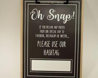 Printable Wedding Sign