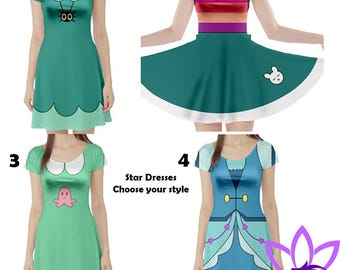 Star Butterfly Adult Dresses