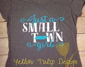 Just a Small Town Girl Tennessee Women's T-shirt
