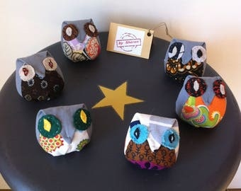 Plush OWL toy or decoration choice OWL child's room