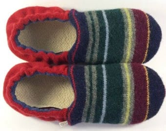 Gift for Dad- Gift for Husband- Gift for Mom- Dad Gifts- Teen Mens Gift- Valentine Gift for Him- Hygge Gift- Wool Slippers- Cozy Gift