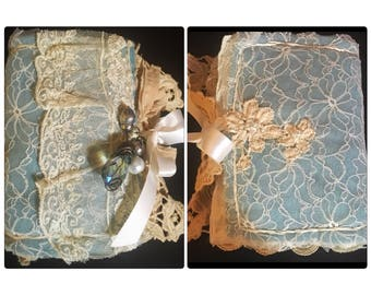Beautiful Completely Hand Made Sewing Needle Book/Sewing Organizer/Needle Keeper