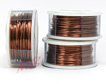 22 Gauge Tarnish Resistant Antique Copper Craft Wire