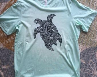 Sea Turtle Tee / See, Turtle Tea