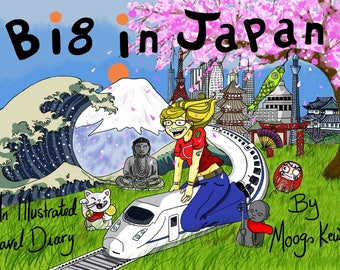 Big in Japan Illustrated Travel Diary