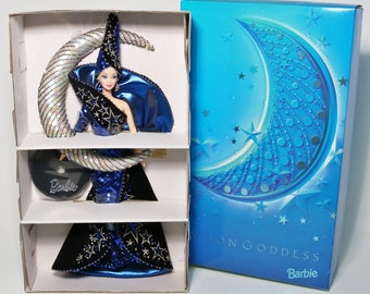 1996 Bob Mackie Collection Moon Goddess Barbie Doll-Limited Edition-NIB