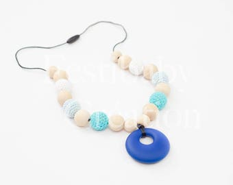 Breastfeeding necklace - scarf - Babywearing necklace - breastfeeding Babywearing accessories