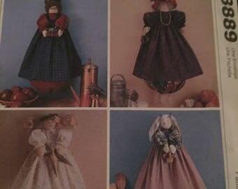 """Vintage McCalls Uncut Sewing Pattern; """"Bag Holders"""""""