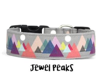 Dog Collar, Boy Dog Collar, Girl Dog Collar, Mountain Dog Collar, Adventure Collar, Hiking Collar (Upgrade to Metal Buckle or Martingale)