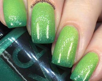 Going Green by CANVAS lacquer - a green thermal shade