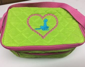Irish dancer in Heart Lunchbag, Perfect for back to school or for Camps and Competitions throughout the summer