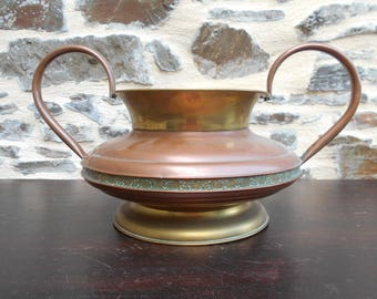 Lovely Vintage Villedieu Copper pot/Planter