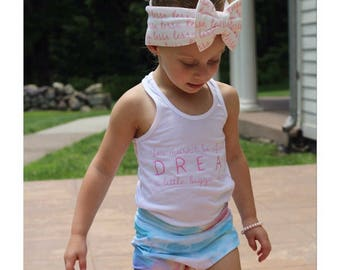 Dream Tank || Kids tank || Summer || Racerback Tank || Kids || Infant Tank Top